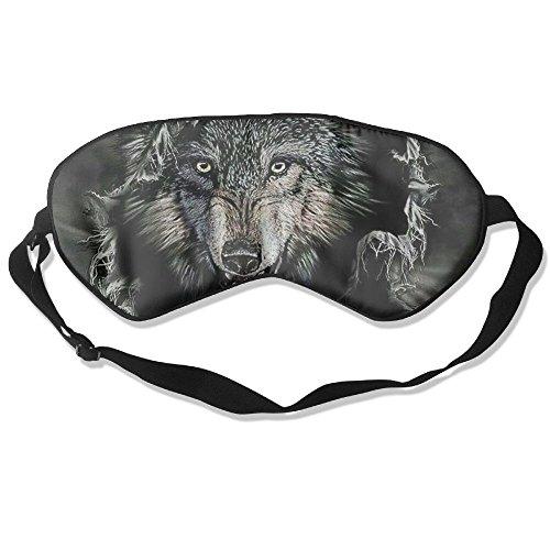 Sleeping Mask Ferocious Wolf Unisex Eyepatch Mask Eye Cover ()