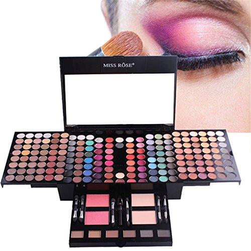 RoseFlower Pro 180 Colors Eyeshadow Makeup Palette Cosemetic