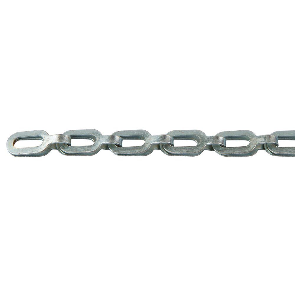 Perfection Chain Products 54679 #2 Plumber's Chain, Plated Steel Zinc, 10 FT Carton