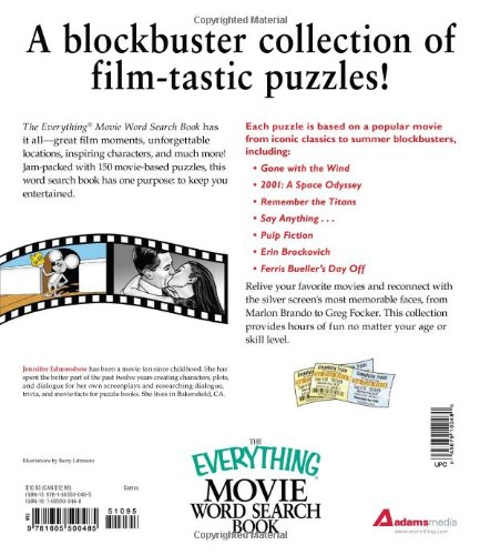 The Everything Movie Word Search Book: 150 Blockbuster Puzzles for ...
