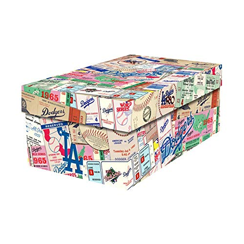 That's My Ticket MLB Los Angeles Dodgers Souvenir Gift/Photo Box, One Size, Multicolored ()