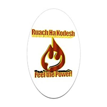 Cafepress feel the power oval sticker oval bumper sticker euro oval car