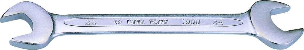 King T. 19003036 Chiave a forchetta, metrica, 30 x 36 mm