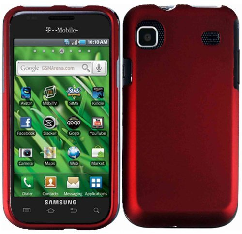 Red Hard Case Cover for Samsung Galaxy S 4G T959V T959
