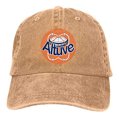 Moore Me Adjustable Baseball Cap Houston Altuve Logo Cool Snapback ()