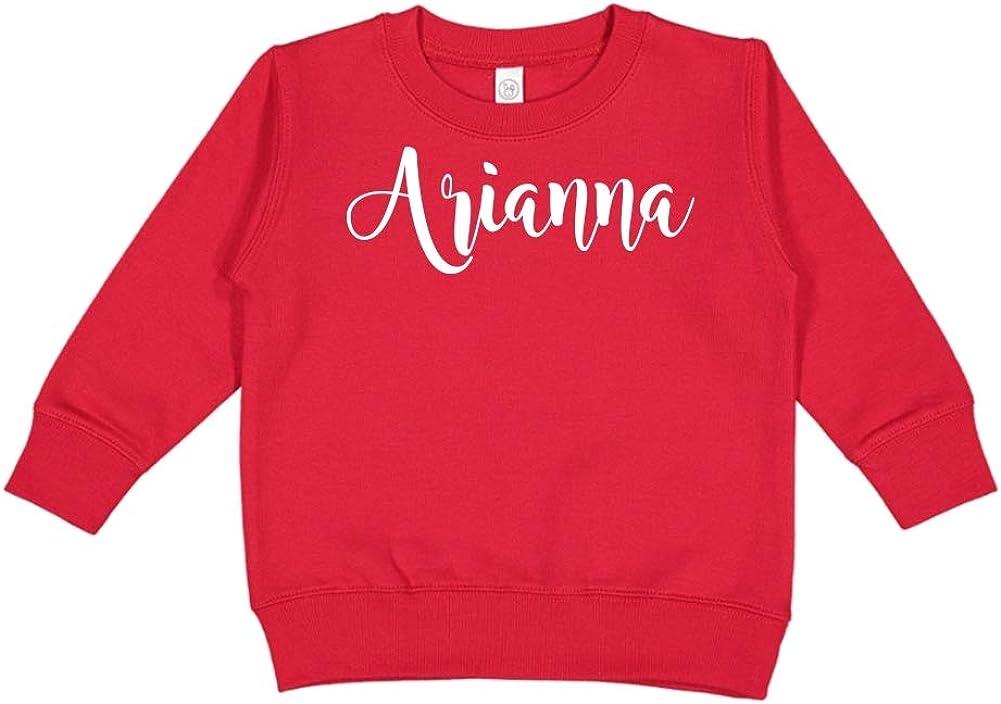 Mashed Clothing Arianna Personalized Name Toddler//Kids Sweatshirt