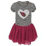 "NFL Infant ""Celebration"" Sequin Tutu Dress-Black-24 Months, Arizona Cardinals"