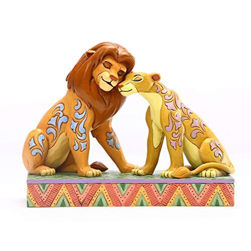 51dwUzvluQL. SS500 Figura de Disney Traditions. Diseñado por Jim Shore. Patrones inspirados en arte popular con colores llamativos.