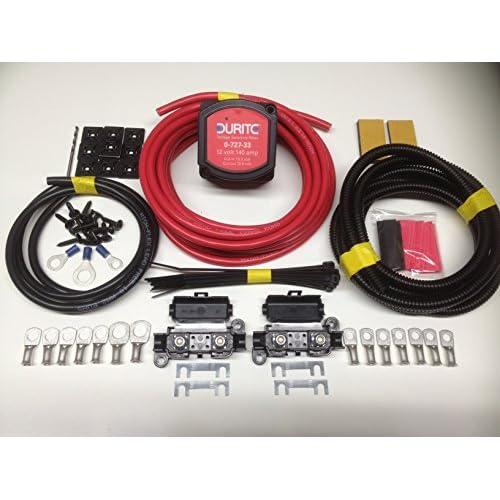 5M Split Charge Kit Relais 12V 140Amp Durite 0en–727–33intelligent Tension Relais Sense sck115 durable modeling