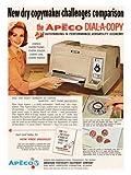 Retro Technology: Apeco, Photo Copy Machine
