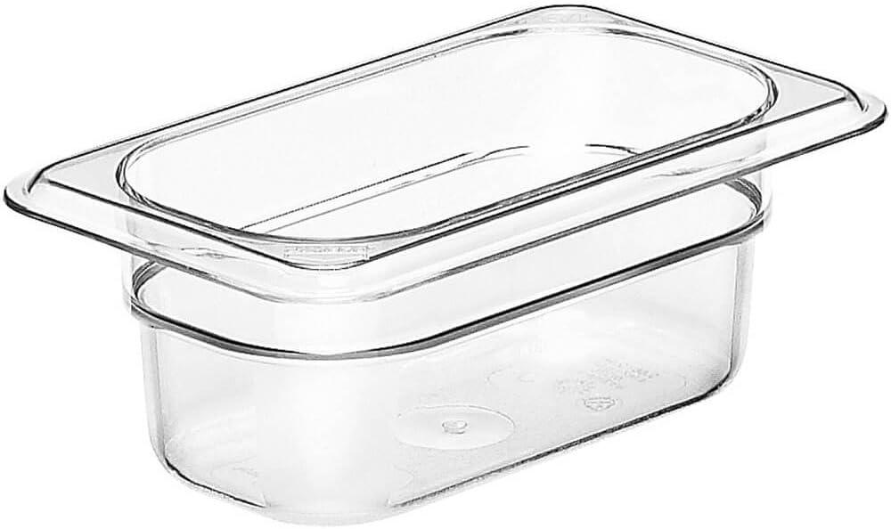 Cambro 92CW135 Camwear Food Pan plastic 1/9-size 2-1/2