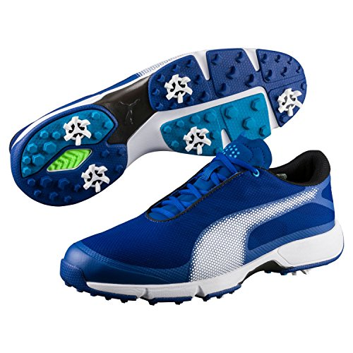 Puma Golf Men's Ignite Drive Sport Shoes, True Blue-Puma White-Blue Danube, 10.5 Medium US