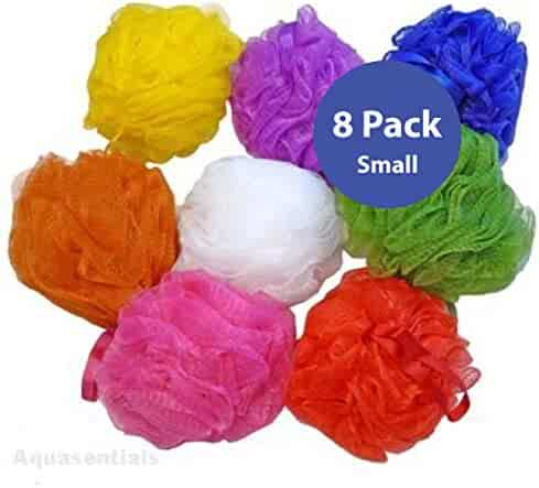 Aquasentials Small Mesh Pouf (8 Pack)