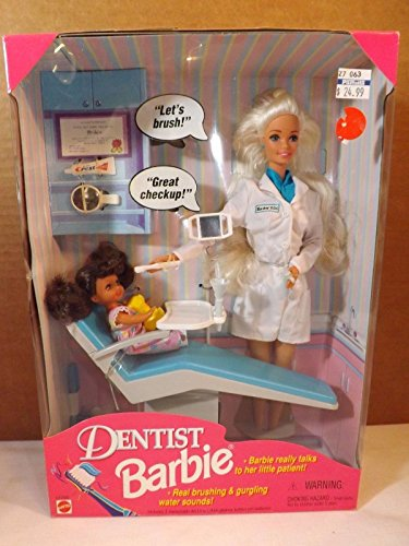 Dentist Barbie from 1997 image