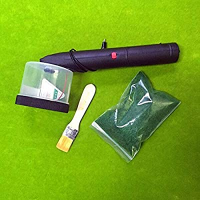 ABS Mini Static Grass Flocking Applicator with Antiskid Handle for DIY Scenic Modelling Sand Table: Home Improvement