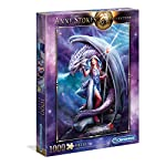 Clementoni 39525 Anne Stokes Puzzle Dragon Mage 1000 Pezzi Made In Italy Puzzle Adulto