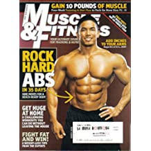 MUSCLE & FITNESS MAGAZINE (March 2008) COVER PHOTO: STAN McQUAY + ROCK HARD ABS IN 35 DAYS + HOME TRAINING