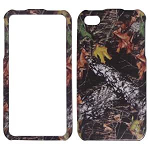 Apple iPhone 4 and 4s Camo Camouflage Leaves and Branch Hard Case, Cover, Snap On, Faceplate