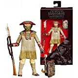 Star Wars Year 2015 The Black Series The Force Awakens 6 Inch Tall Figure #9 - CONSTABLE ZUVIO B3843 with Backpack and Spear