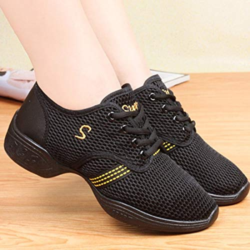 Sneakers Soft Woman Summer Ballroom Spring Female Shoes Dance Jazz Dance Breathable Mesh Shoes Practicing Sneakers Formulaone HZABq
