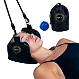 Premium Hammock for Neck Pain | Portable Cervical Traction Device | Neck Pain Relief | Bonus Massage Ball