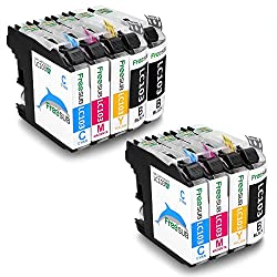 FreeSUB High Yield Compatible Ink Cartridges Replacement for Brother LC-103XL 2 Set+1 Black Used for Brother MFC-J870DW MFC-J450DW MFC-J470DW MFC-J6920DW MFC-J4410DW DCP-J152W MFC-J4710DW MFC-J475DW