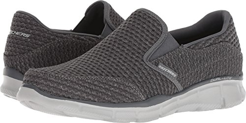 Skechers Men's Equalizer Slickster Charcoal 12 EEEE (Width Mens Shoes)