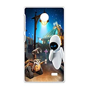 Malcolm wall-e and eve wide Case Cover For Nokia Lumia X