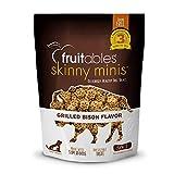 Fruitables Skinny Minis Grain Free Soft Dog Treats Grilled Bison Flavor 5 Oz