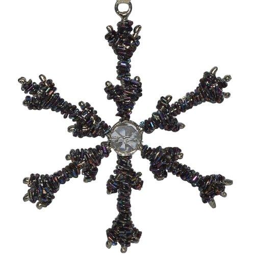 DakshCraft Star Shape Brown Beads Christmas Ornament