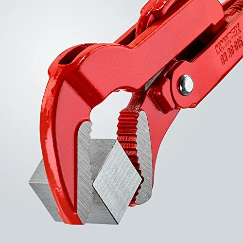 KNIPEX 83 30 015 Pipe Wrench S-Type red powder-coated 420 mm
