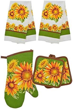 HomeConcept Kitchen Towels Potholders Sunflower product image