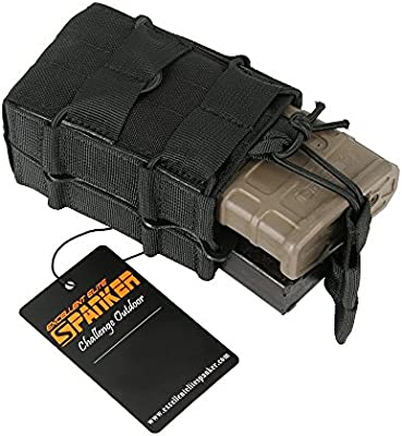 EXCELLENT ELITE SPANKER Open-Top Single/Double Mag Pouch for M4 M14 M16  AR15 Magazine
