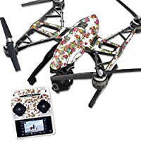 MightySkins Protective Vinyl Skin Decal for Yuneec Q500 & Q500+ Quadcopter Drone wrap cover sticker skins Bouganvilla
