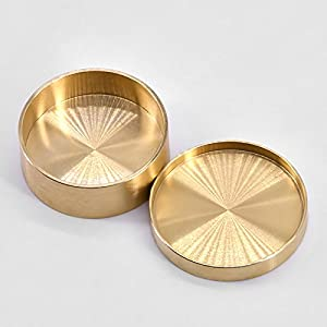 Copper Boston Box Half Dollar Version For Coin Magic Tricks Magician Appearing Vanish Coin Magie Close Up Props Gimmick Illusion