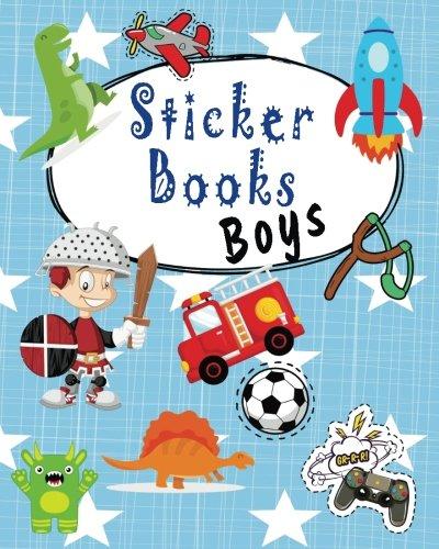 (Sticker Books Boys: Blank Permanent Sticker Book)