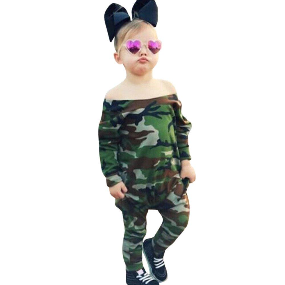 Neugeboren Baby Junge Mädchen Tarnung Spielanzug Outfits Set Unisex Langarm Kleidung Bodysuit Spielanzug übergang overall baby Body Romper Overalls Outfits Jumpsuits Bekleidung 3804