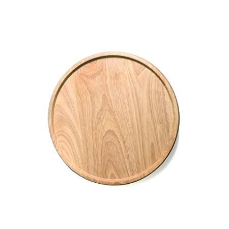 FEAL 11.8 inch Solid Rubber Wood TrayTea Tray Dessert PlatesPizza Plates  sc 1 st  Amazon UK & FEAL 11.8 inch Solid Rubber Wood TrayTea Tray Dessert PlatesPizza ...