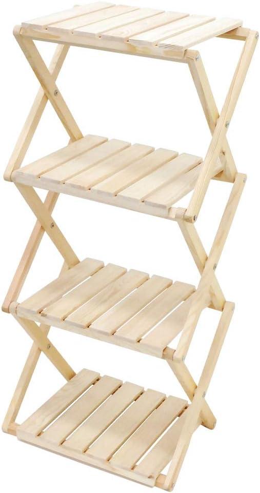 SUGGEST 木製ラック 4段