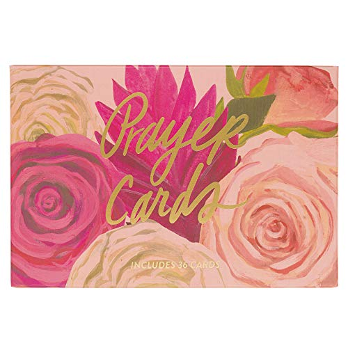 (Thimblepress Prayer Cards, 36 Floral Prayer & Scripture Cards, Gift Boxed, 4x6 Inch)
