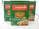 Creamette Large Elbow Macaroni Noodles 1# Three (3) Boxes