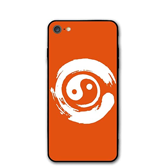 Amazon Iphone 8 Case Yin Yang Symbol In Enso Circle Japanese