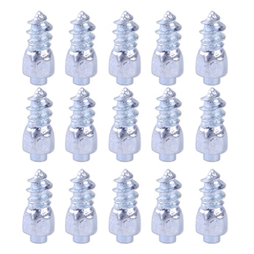 beler 100pcs 9mm Anti-Slip Screw in Tire Snow Spikes Racing Track Car Wheel Ice Studs