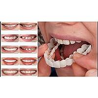 Leoie Unisex Cosmetic Denture Easy Wear Teeth Whitening Brace