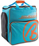BRUBAKER Winter Sports Boot Bag Super Champion - Limited Edition - Backpack Blue Orange