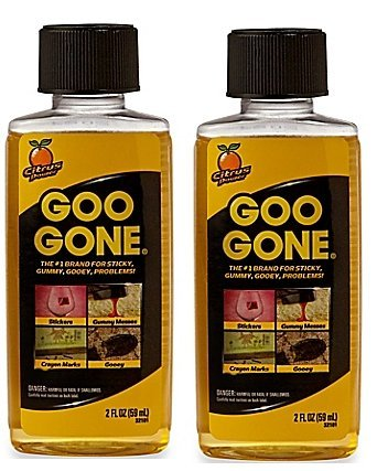 Goo Remover Greasy Residues Messes