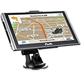 GPS Navigation for Car,800x480,8GB Capacitive and 256DDR 7 inch Navigation systems Included Overall America Maps Directions with 2 Car Charger.