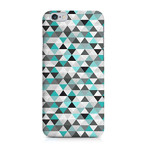 COVER mint Dreieck Triangel Muster Handy Hülle Case 3D-Druck Top-Qualität kratzfest Apple iPhone 6 / 6S