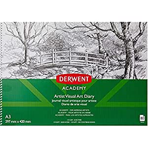 Derwent Academy A3 Drawing Pad (80 Pages)