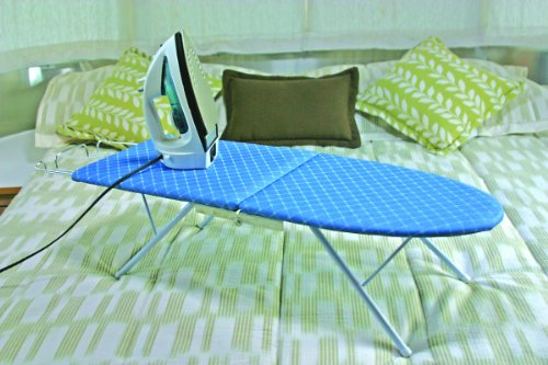 Camco Folding Ironing Board- Easily Folds for Convenient Storage After Each Use Perfect for Traveling, RVs and Campers- (43904)